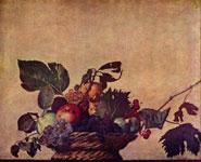 Корзина с фруктами. (Меризи да Караваджо)