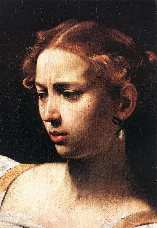 """1598 Меризи да Караваджо """"Юдифь и Олоферн (фрагмент)."""""""