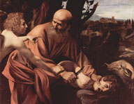 Жертвоприношение Авраама. (Меризи да Караваджо)