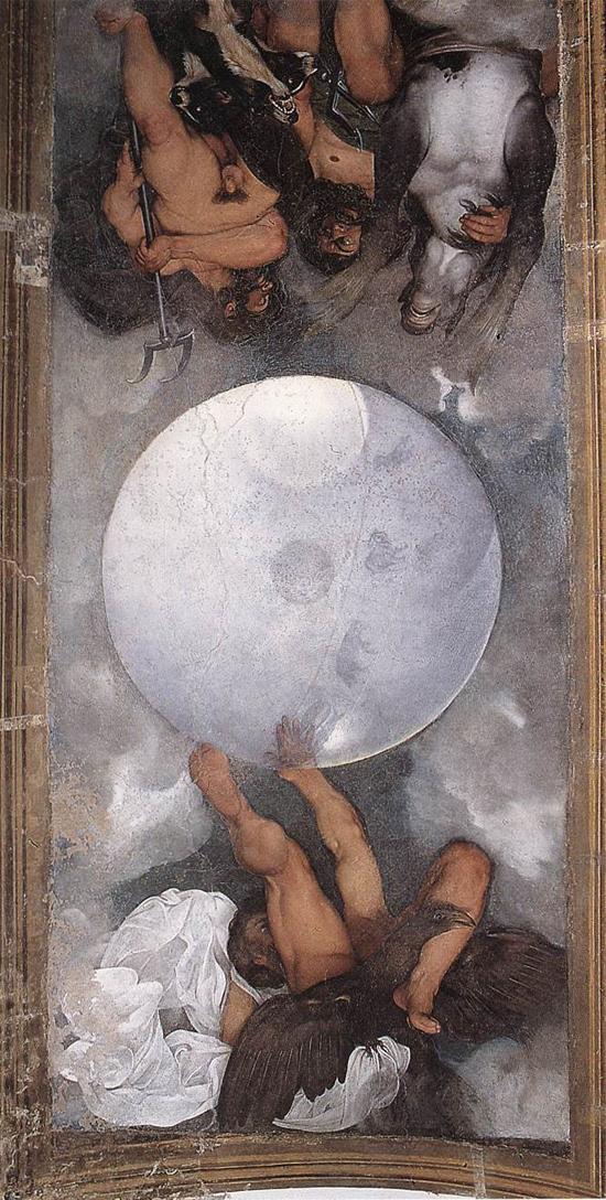 "1597 Меризи да Караваджо ""Юпитер, Нептун и Плутон."""