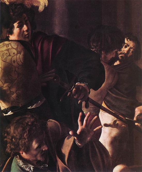 """1600 Меризи да Караваджо """"Мученичество Св. Матфея (фрагмент)."""""""