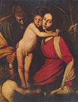 Святое семейство с Иоанном Крестителем.