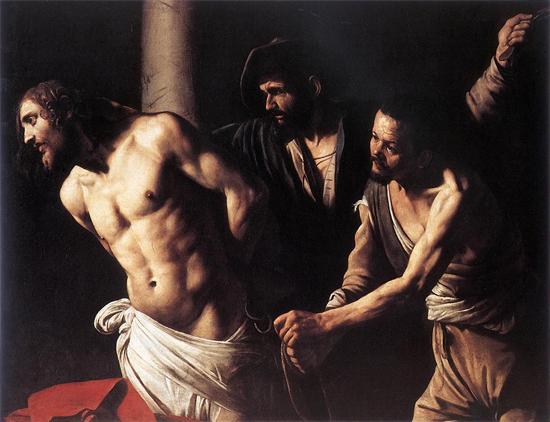 """1607 Меризи да Караваджо """"Бичевание Христа."""""""